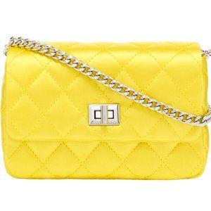 India Hicks Consort Bag - Yellow - NEW